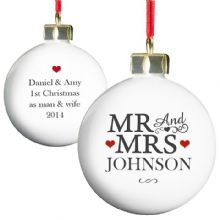 Mr & Mrs Bauble